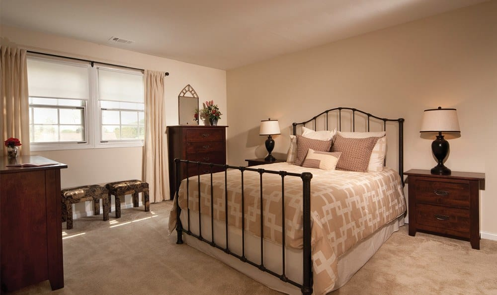 Our Baltimore apartments have designer bedrooms