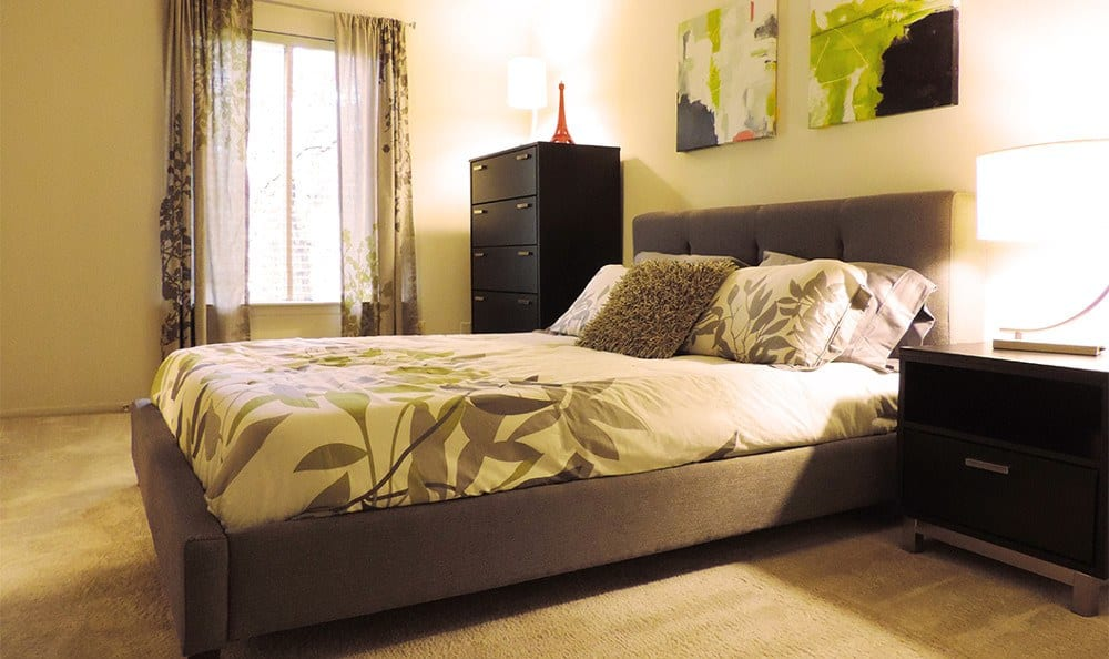 Our Catonsville apartments for rent have designer bedrooms