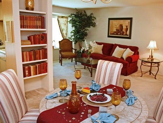 Apartment amenities in Columbia