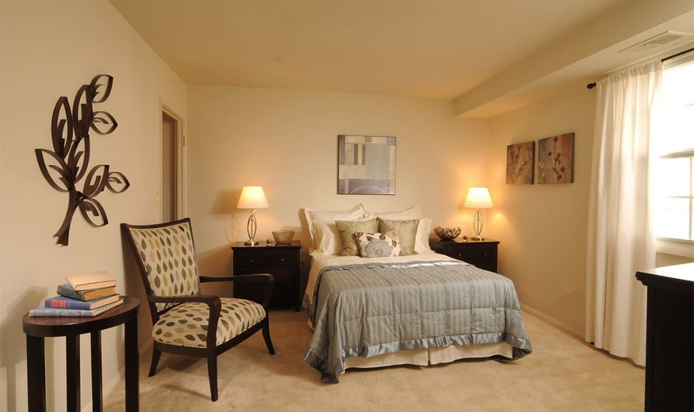 Our Baltimore apartment rentals have spacious bedrooms