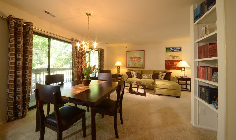 Living rooms in Catonsville apartment rentals
