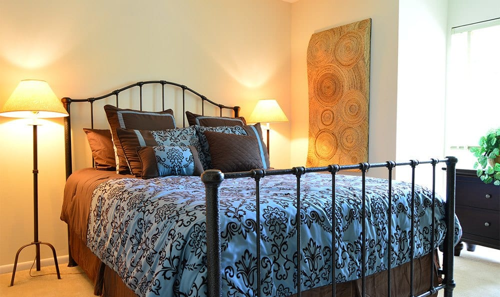 Spacious bedrooms in Baltimore apartment units