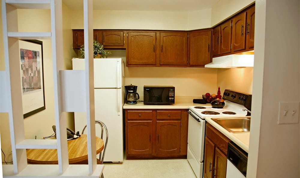Kitchen at our apartments for rent in Baltimore, MD