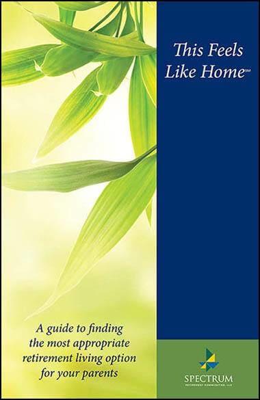 Read the Senior Living Guide from Spectrum Retirement Communities, LLC