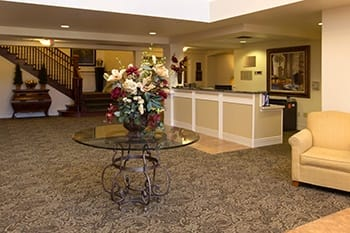 Concierge services - Space Planning at Park Meadows Senior Living