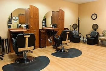 Concierge services - Salon, Spa and On-Site Massage at Pine Ridge of Plumbrook Retirement Community