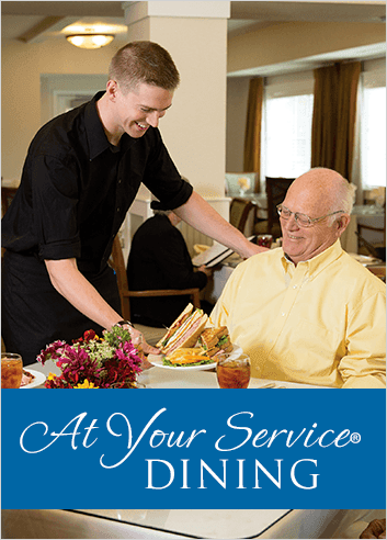 Dining at Lincoln Meadows Senior Living