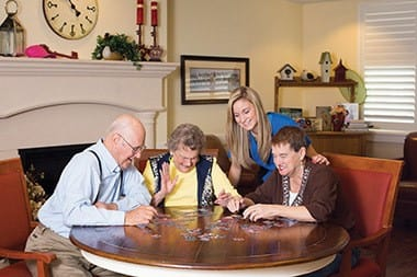 Learn more aobut The Residence Club at senior living community in Fishers, IN