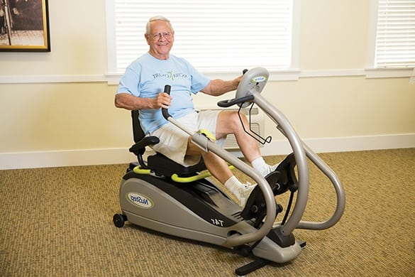 Wellness: Physical program at The Homestead at Hickory View Retirement Community