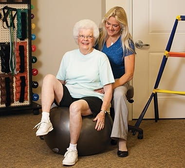 Wellness: Intellectual program at Lincoln Meadows Senior Living