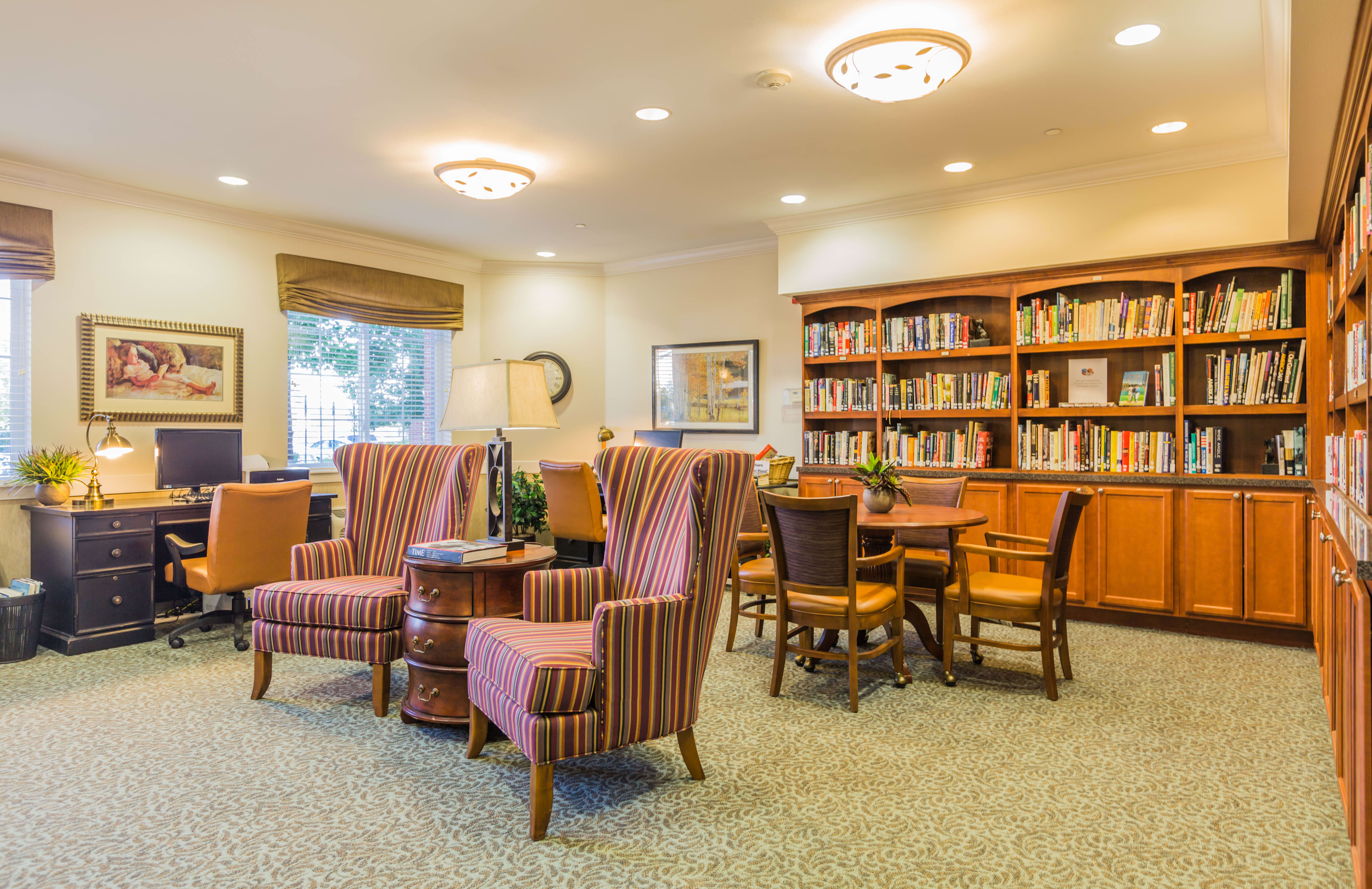 Library at Lakeview Senior Living
