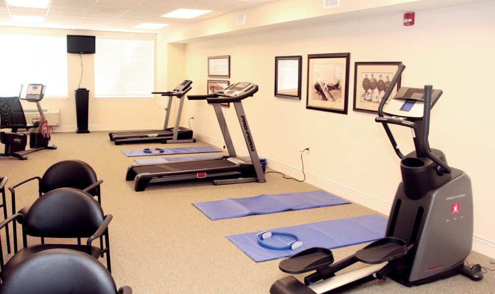Exercise Options At Our Senior Living Facility In Crestwood