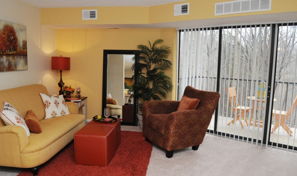 Living Room At Our Shelby Township Retirement Community
