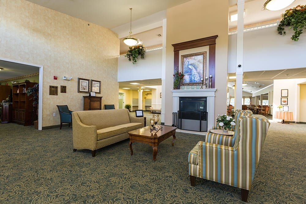 Front Entrance at Our Sterling Heights Independent Living Community