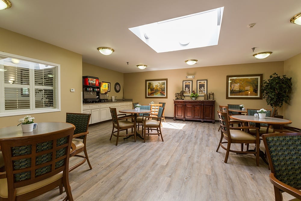Coffee Cafe At Our Sterling Heights Independent Living Community