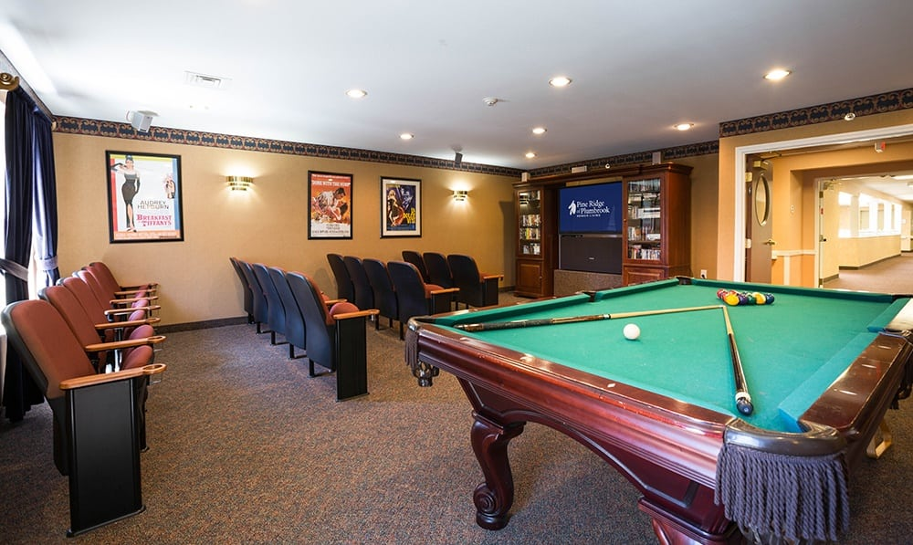 Pool Table At Our Sterling Heights Independent Living Community