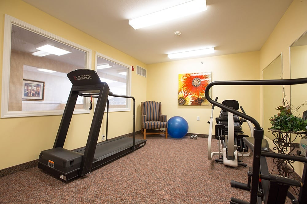 Excercise at Our Sterling Heights Independent Living Community