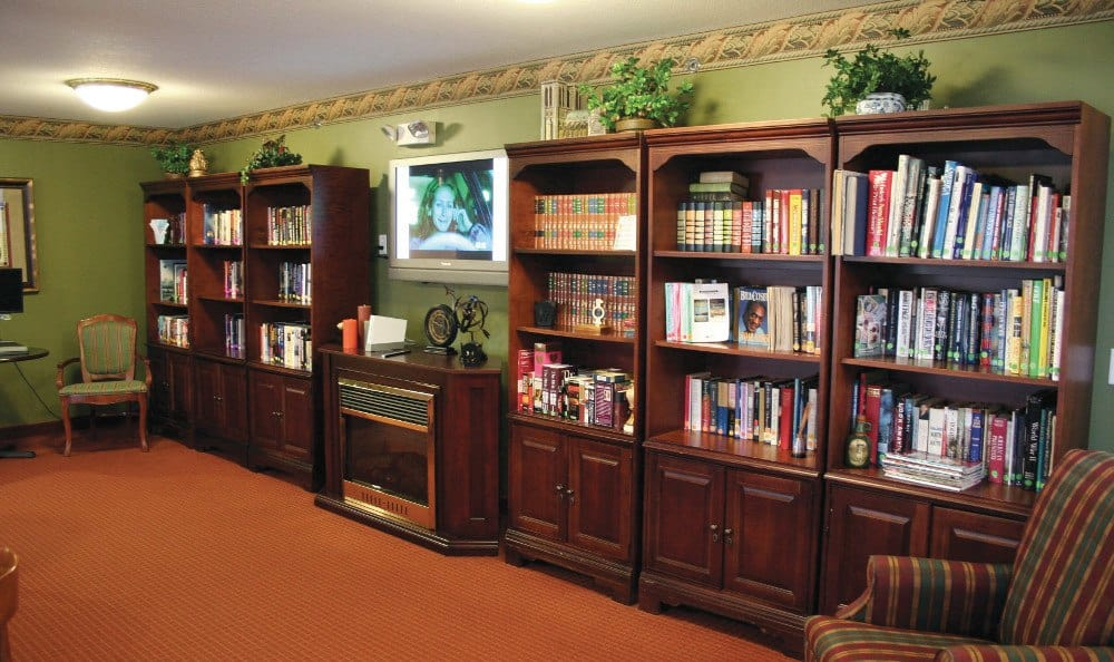 Library At Our Sterling Heights Independent Living Community