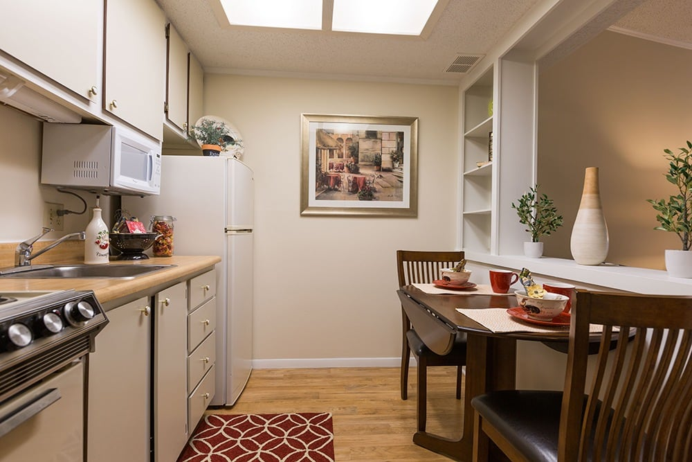 Apartment with Kitchen at Our Retirement Community In Sterling Heights