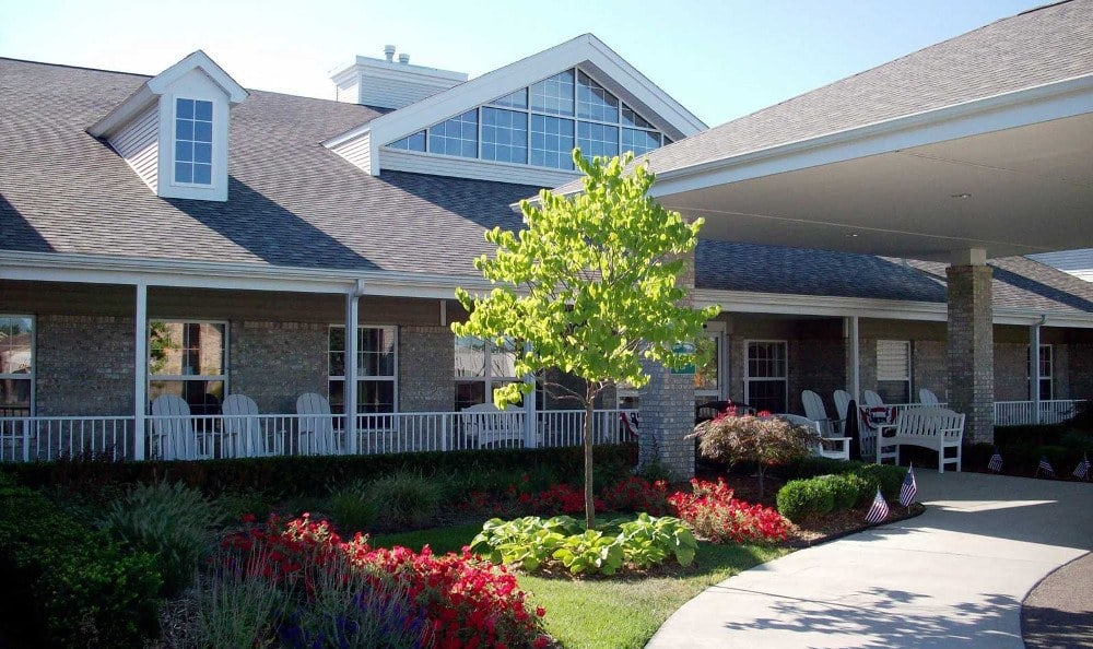 Entrance At Our Senior Retirement Community In Clinton Township