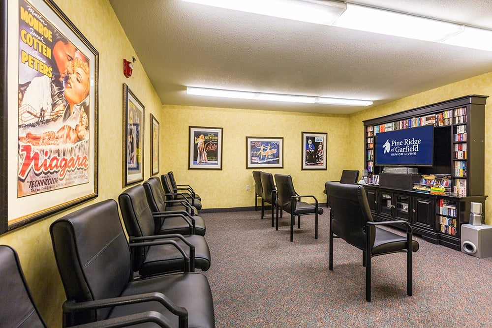Theater At Our Senior Retirement Community In Clinton Township