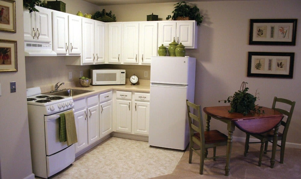 Kitchen At Our Senior Retirement Community In Clinton Township