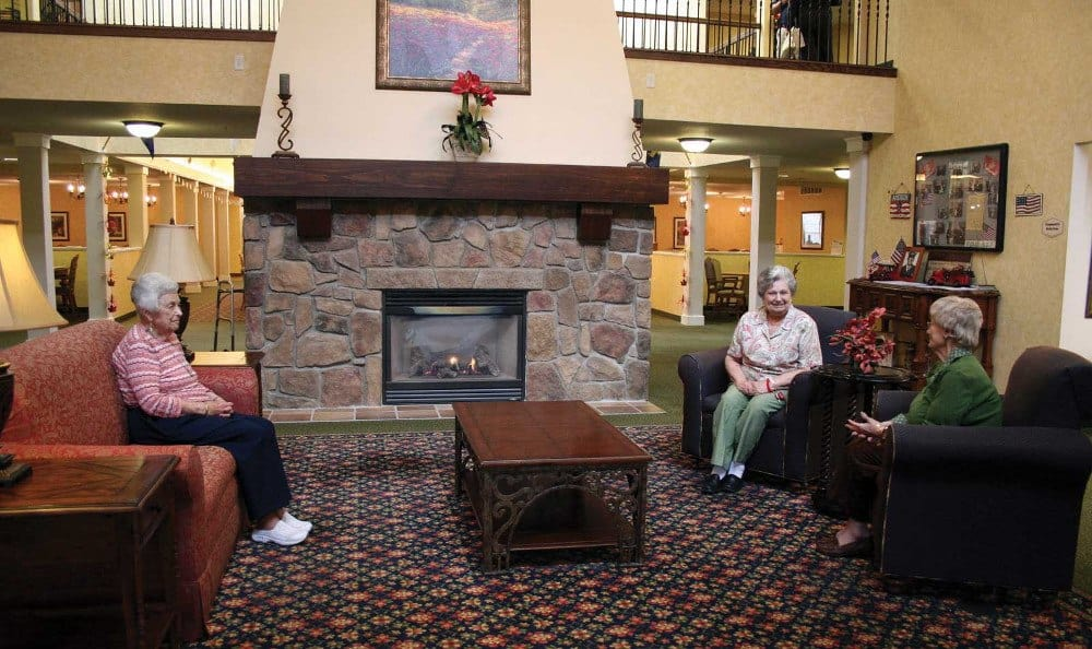 Lounge Sitting Room Clinton Township Independent Living