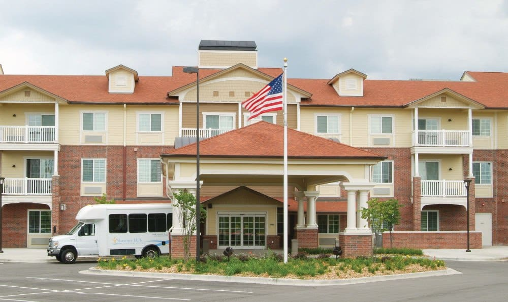 Exterior At Shawnee Independent Living