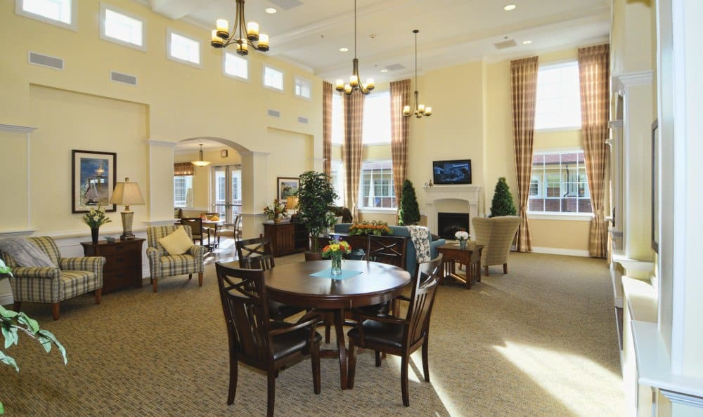 Grand entry at Park Meadows Senior Living