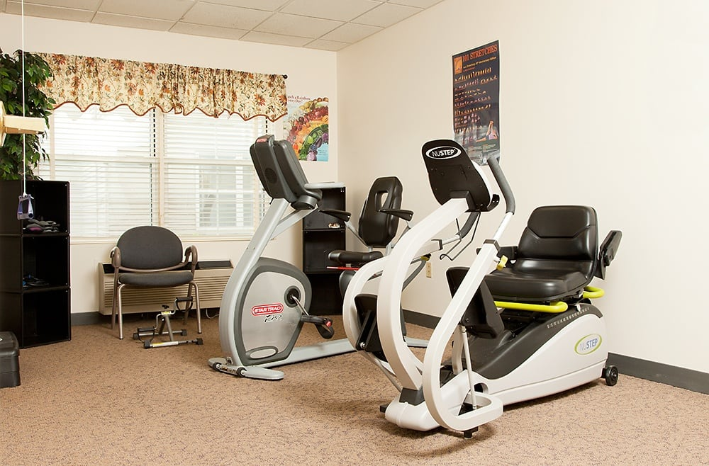 Excerise Room At Our Liverpool Retirement Community