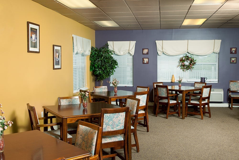 Community Room At Our Liverpool Retirement Community
