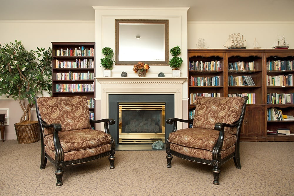 Library At Our Parkrose Retirement Community