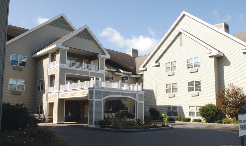Exterior Of Our Liverpool Retirement Community