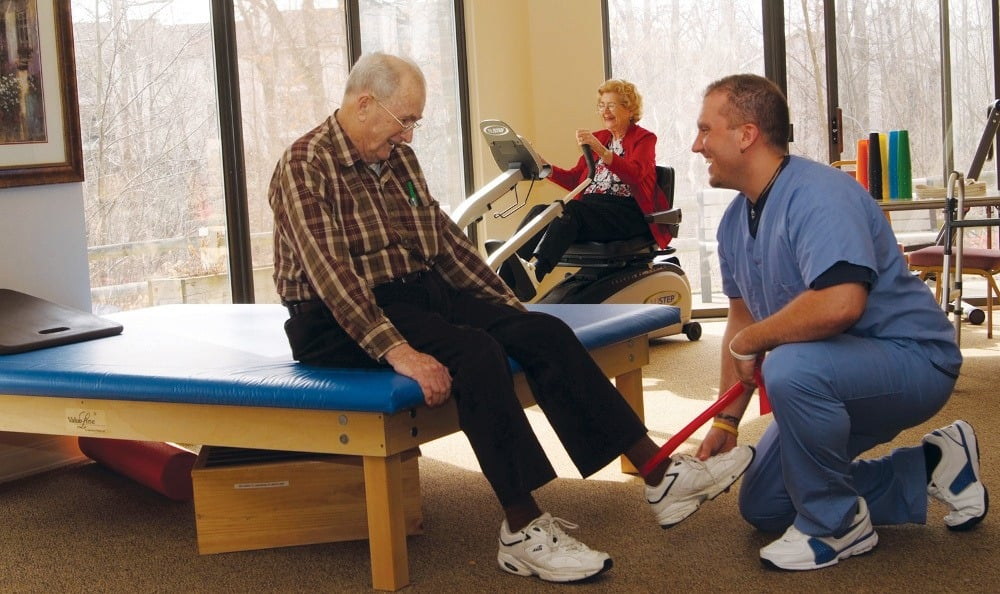 Physical Thearapy At Our Westlake OH Senior Living Facility