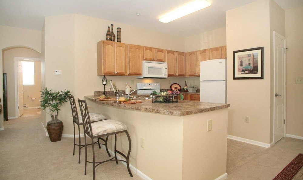 Spacious kitchens at Southview Assisted Living & Memory Care