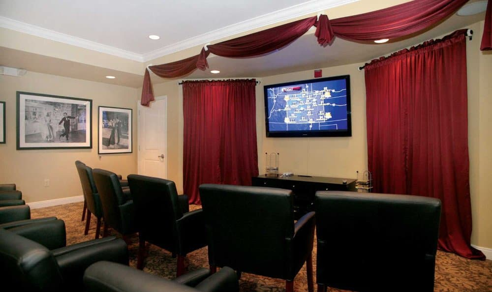Our Affton assisted living facility has a theater