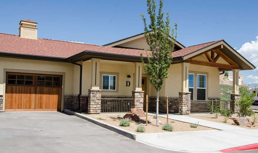 Front of our senior living facility in Albuquerque, NM