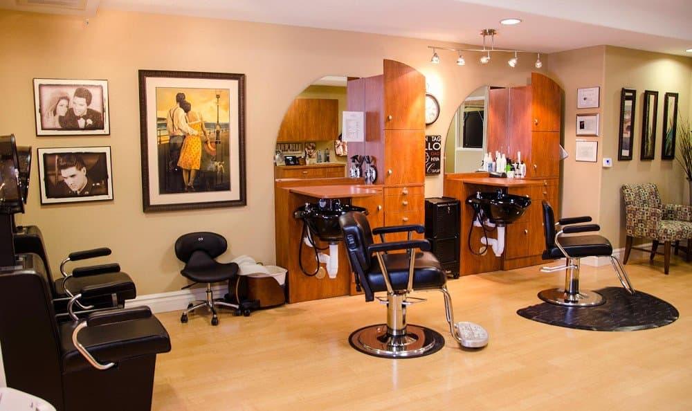 Salon at our senior living facility in Albuquerque, NM