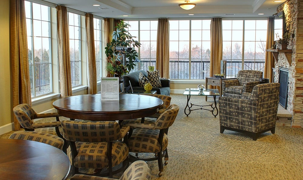 Sky lounge here at HighPointe Assisted Living & Memory Care