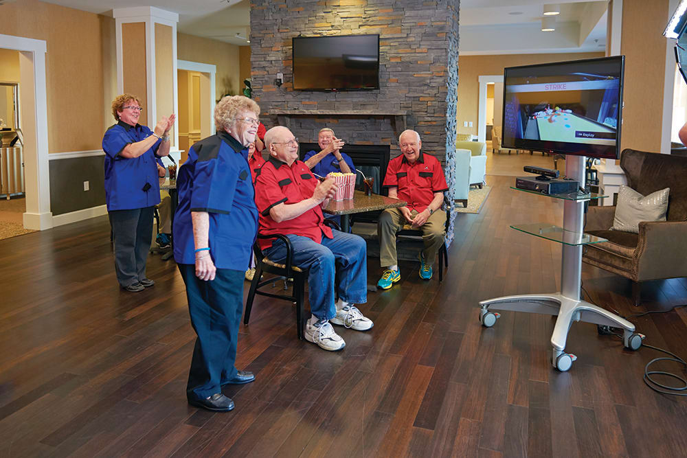 FUN Wii Games at HighPointe Assisted Living