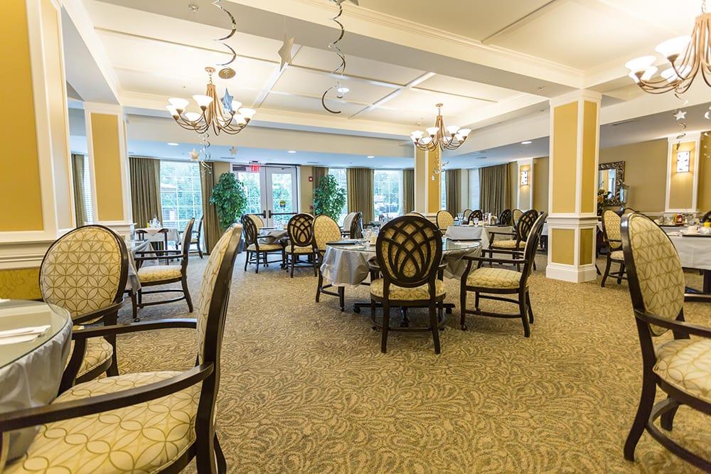 Dining Room at Cedar Lake