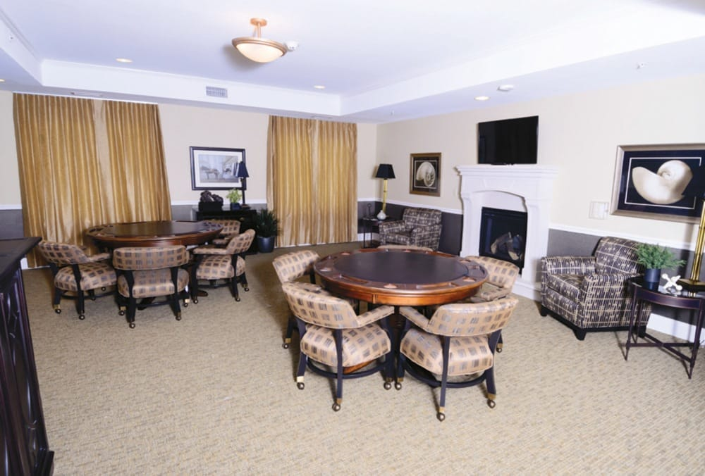 Lounge At Our Fishers In Senior Living Community