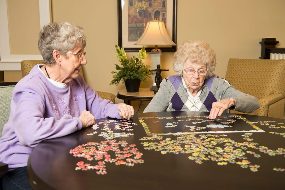 Puzzle At Our Fishers In Senior Living Community