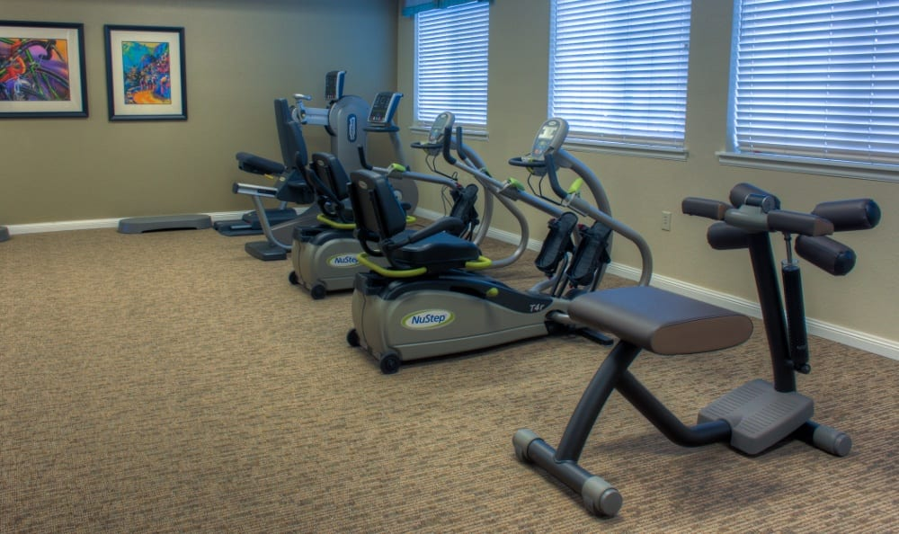 Exercise options at our senior living facility in Centennial, CO