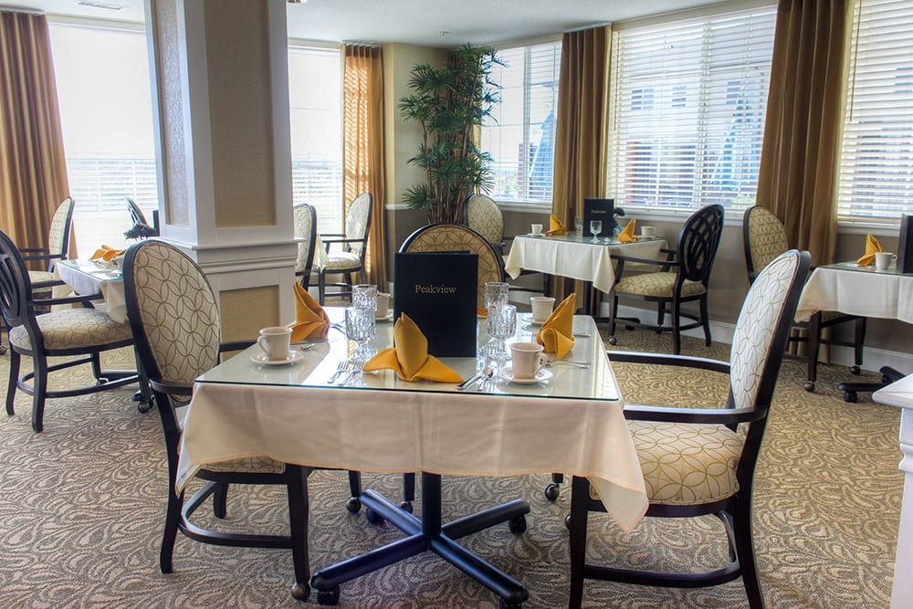 Dining Room at Peakview