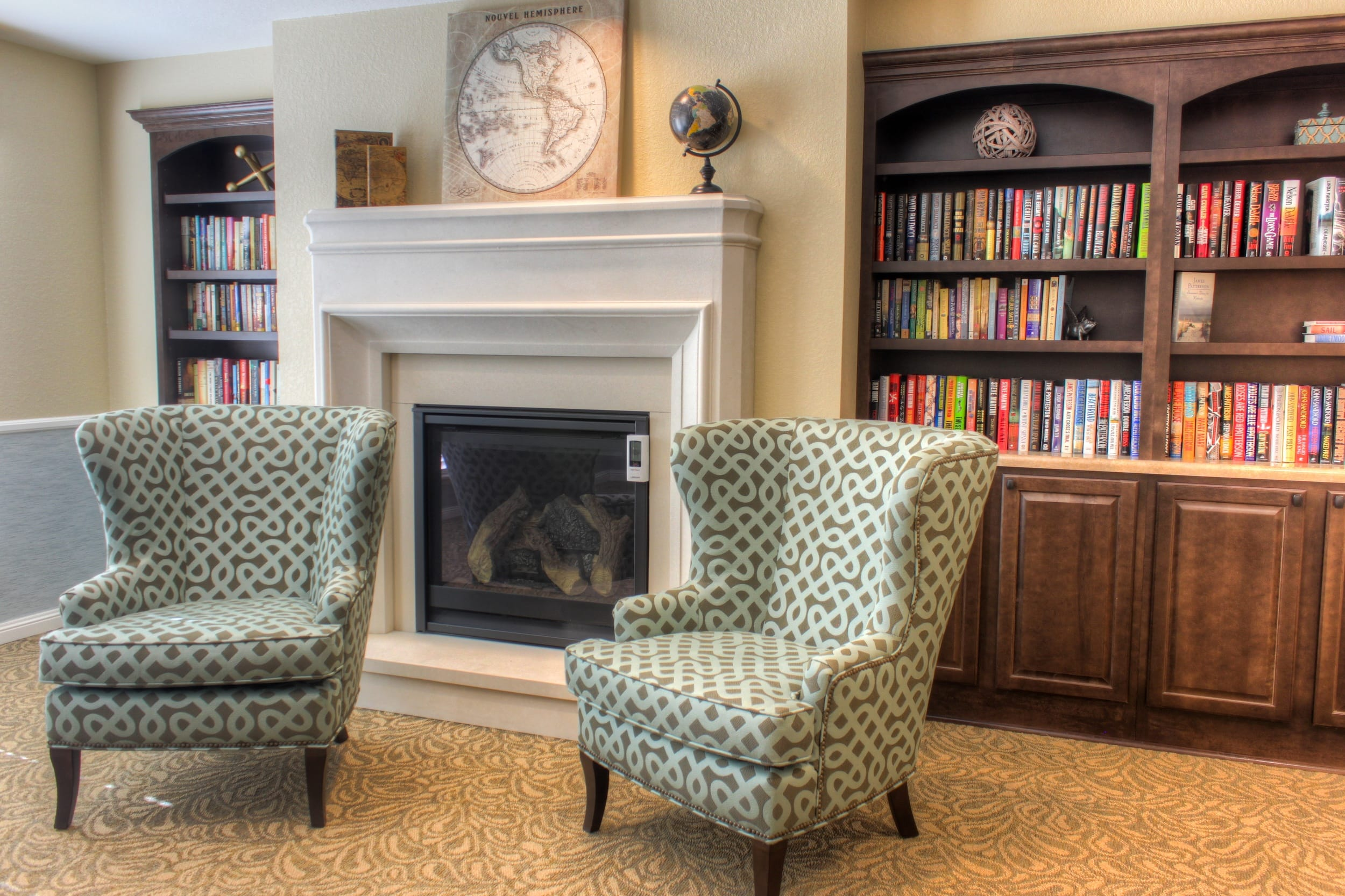 Library at Peakview Assisted Living