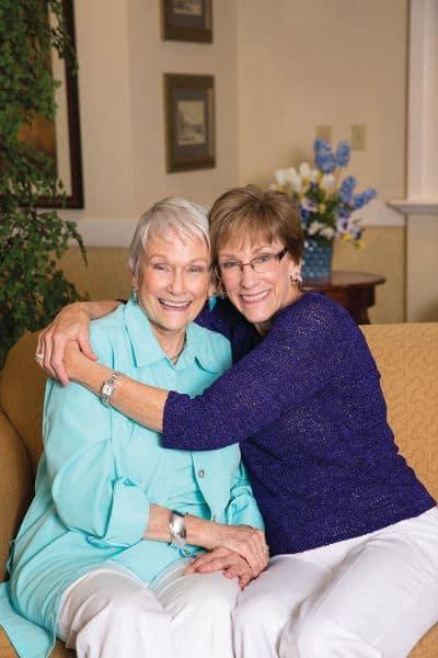 Residents at Gardens at Ocotillo Senior Living