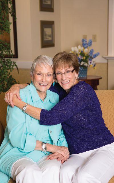 Residents at Carmel Senior Living