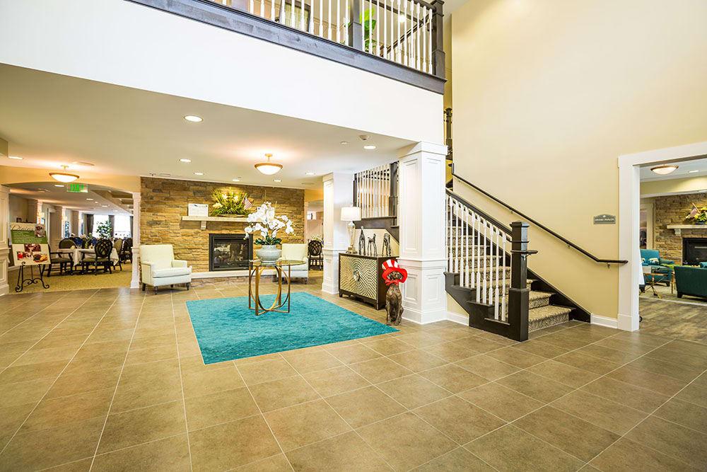 Grand Foyer at Westbrook Senior Living