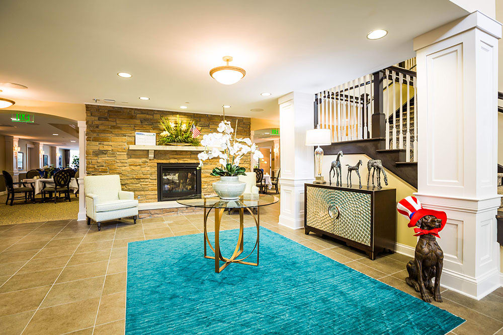 Foyer and Entrance at Westbrook Senior Living